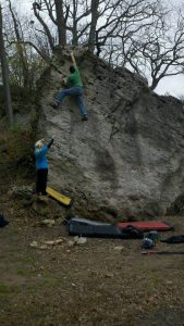 Bouldering At Springfield Ohio